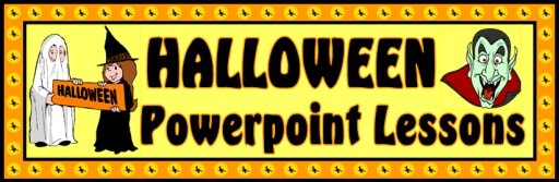 Halloween Powerpoint Lesson Plans