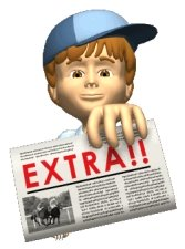 Newspaper Delivery Boy For Student Writing Projects