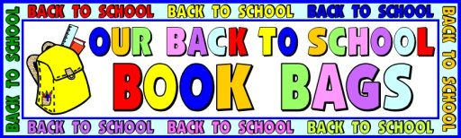 Back to School Student Backpack Bulletin Board Display Banner