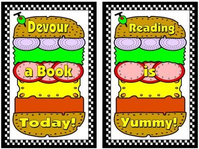Cheese Burger Book Report Projects Student Templates