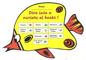 Reading Sticker Charts Dive Into Reading Books