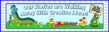 Caterpillar Creative Writing Bulletin Board Display Banner