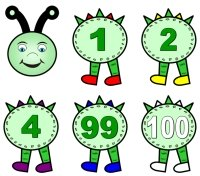 Spring Teaching Resources Caterpillar Number Line