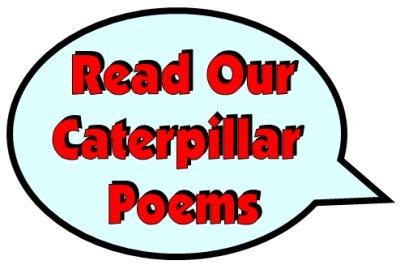 Caterpillar Poems Speech Bubble