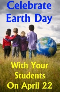 Earth Day Elementary School Students Lesson Plans Ideas