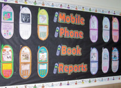Fun Cell Phone Project Templates Bulletin Board Display Ideas