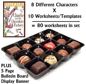 Willy Wonka, Charlie Bucket, August Gloop, Violet Beauregarde, Veruca Salt, Mike Teevea Character Book Reports