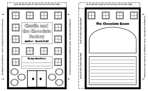 Charlie and the Chocolate Factory Group Project Templates and Printable Worksheets