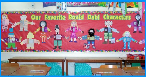 Charlie and the Chocolate Factory Main Characters Bulletin Board Display