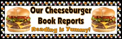 Cheeseburger Sandwich Book Report Bulletin Board Display Banner