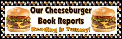 Cheeseburger Sandwich Book Report Bulletin Board Display Banner