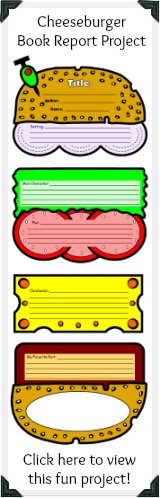 Winter printable worksheets christmas and december creative click here to view this unique cheeseburger book report project pronofoot35fo Choice Image
