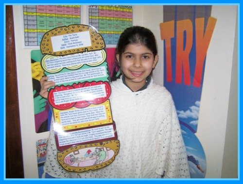 Sandwich Book Report Projects and Templates