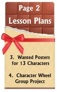 Go To Charlie and the Chocolate Factory Lesson Plans Page 2