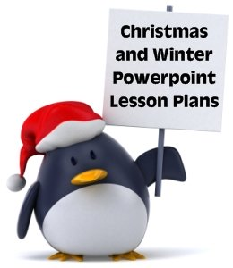 Fun Christmas and Winter Powerpoint Lesson Plans and Presentations