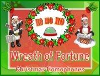 Christmas Santa Homophones Powerpoint Lesson Plan