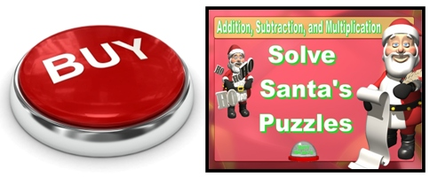 Santa and Christmas Math Powerpoint Presentations and Lesson Plan Activities