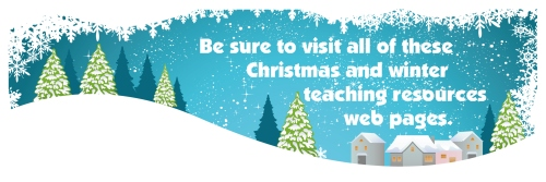 Christmas and Winter Teaching Resources and Lesson Plans