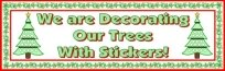 Christmas Tree Sticker and Incentive Chart