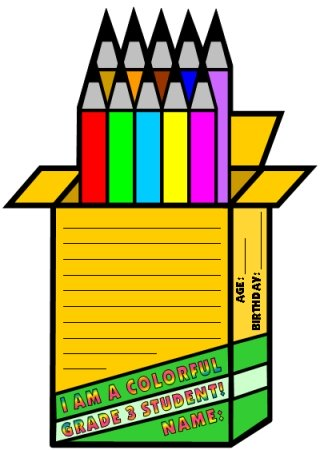 Crayon Box Creative Writing Templates and Project Ideas