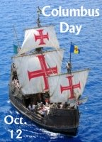 Columbus Day October 12 Lesson Plans and Writing Prompt Ideas