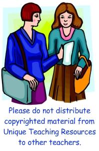 Copyright Law Unique Teaching Resources
