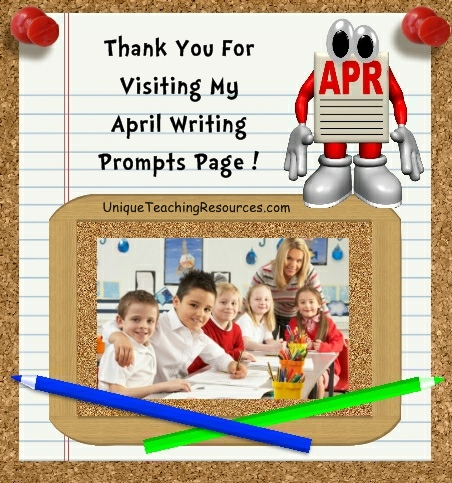 Creative Writing Prompts and Journal Ideas For April