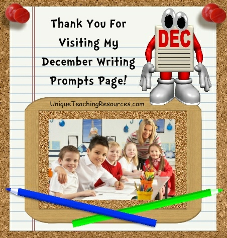 Creative Writing Prompts and Journal Ideas For December