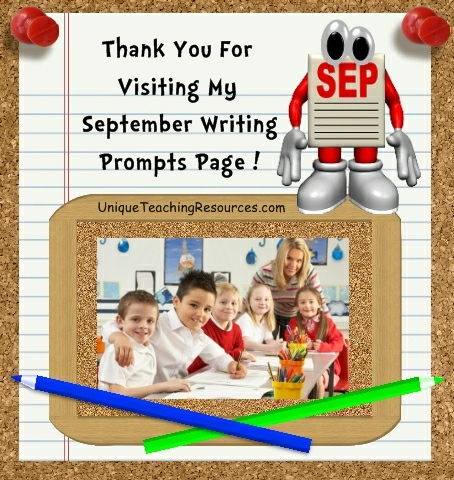 Creative Writing Prompts and Journal Ideas For September
