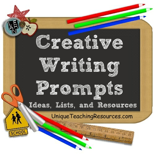 Creative Writing Prompts and Poem Starters Thinkswap Creative writing   Miss Saville     s Learning Space