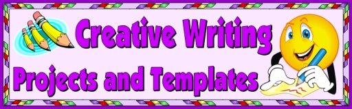 Creative Writing Templates Teaching Resources