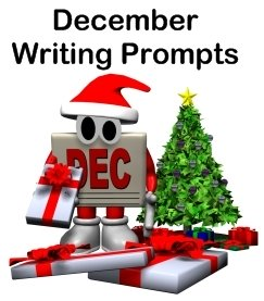 december writing prompts Save money by buying the bundle • 3 ways to write pump up your writing with this set of 44 total illustrated writing prompts that make writing fun for.