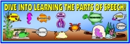 Dive Into Grammar Bulletin Board Display Banner
