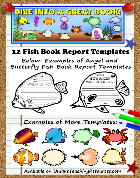 Dive Into Reading - Fun Book Report Project Ideas