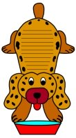 Dog Animal Shape Book Report Projects and Writing Templates