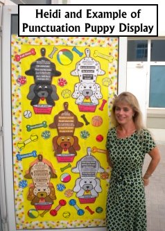 Dog Punctuation Bulletin Board and Classroom Display Teaching Resources Set