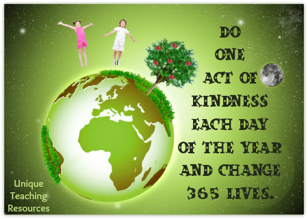 Random Act of Kindness Quote Change 365 Lives