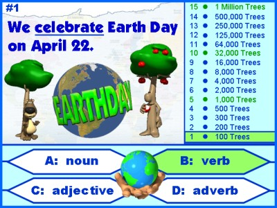 Earth Day English Grammar Powerpoint Lesson Plans