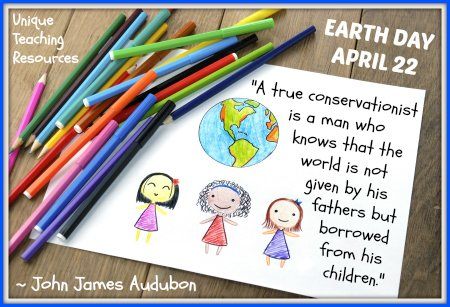 Earth Day John James Audubon Environmental Quote