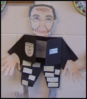 Ebenezer Scrooge Character Body Book Report Project