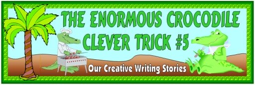 Creative Writing Banner For Roald Dahl's The Enormous Crocodile