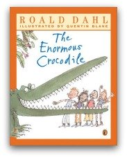 The Enormous Crocodile Book Cover and Creative Book Report Projects