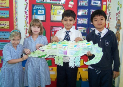 Enormous Crocodile Fun Group Project Author Roald Dahl