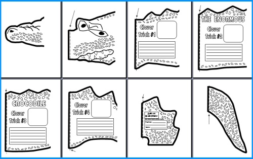 Enormous Crocodile Group Project Templates and Worksheets