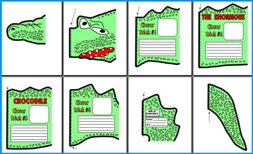 Roald Dahl Enormous Crocodile Project Templates
