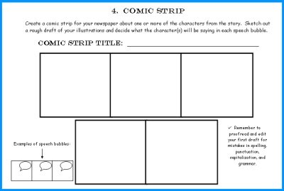 First Draft Newspaper Writing Worksheets
