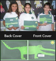 The Enormous Crocodile Writing Project Book Cover