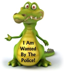 Wanted Poster Book Report Project Enormous Crocodile