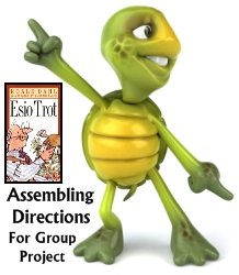Esio Trot Directions and Lesson Plans for Teachers to Assemble Group Projects