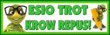 Esio Trot Backwards Bulletin Board Display Banner